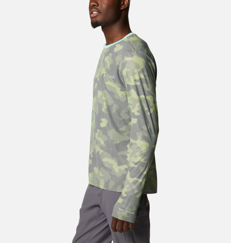 M Sun Deflector Summerdry™ LS Shirt | 353 | XL Men's Sun Deflector Summerdry™ Long Sleeve Shirt, Matcha Spotted Camo, a1