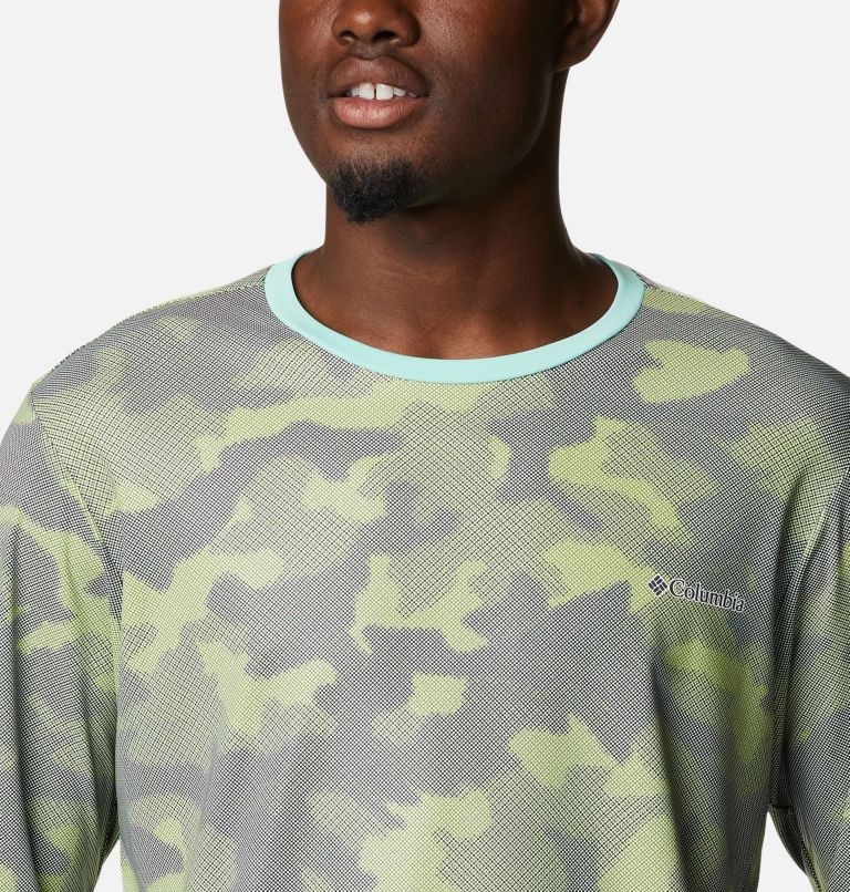 M Sun Deflector Summerdry™ LS Shirt   353   L Men's Sun Deflector Summerdry™ Long Sleeve Shirt, Matcha Spotted Camo, a2