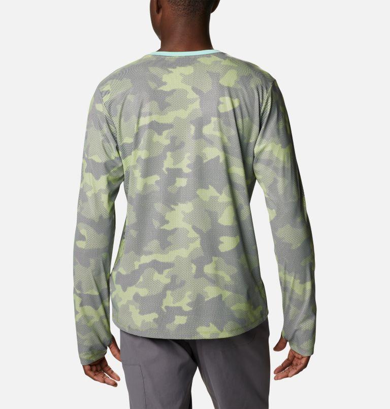M Sun Deflector Summerdry™ LS Shirt   353   M Men's Sun Deflector Summerdry™ Long Sleeve Shirt, Matcha Spotted Camo, back