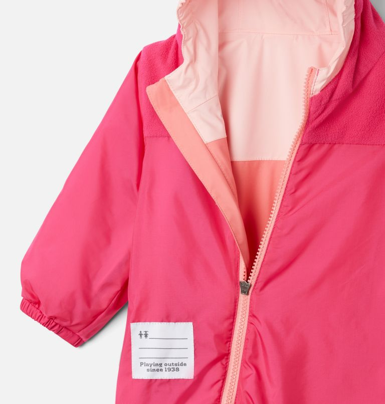 Critter Jitters™ II Rain Suit   699   3/6 Infant Critter Jitters II Rain Suit, Salmon, Tropic Water, Pink Sand, a1