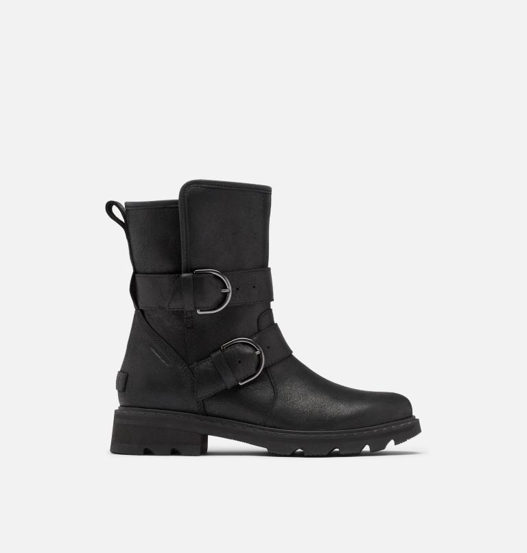 LENNOX™ MOTO BOOT COZY | 010 | 5.5 Women's Lennox™ Moto Boot Cozy Boot, Black, front