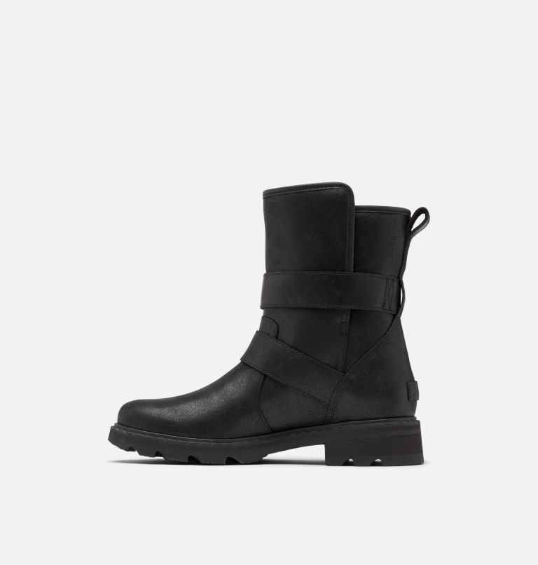 LENNOX™ MOTO BOOT COZY | 010 | 5.5 Women's Lennox™ Moto Boot Cozy Boot, Black, medial