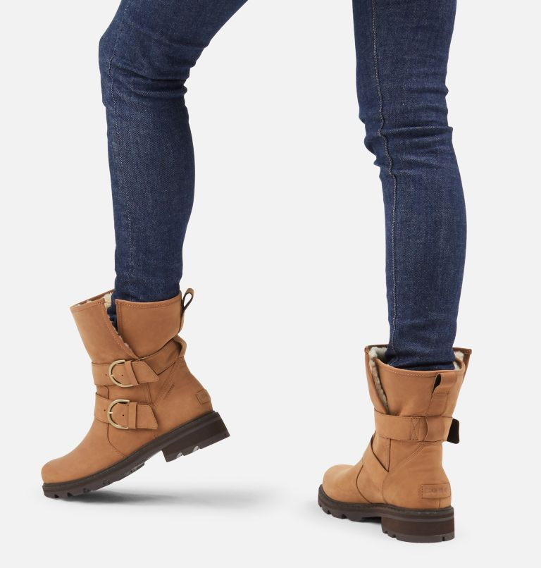 LENNOX™ MOTO BOOT COZY | 242 | 6 Women's Lennox™ Moto Boot Cozy Boot, Velvet Tan, a9