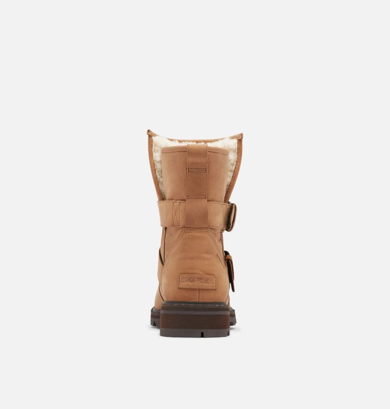 LENNOX™ MOTO BOOT COZY | 242 | 8 Women's Lennox™ Moto Boot Cozy Boot, Velvet Tan, back