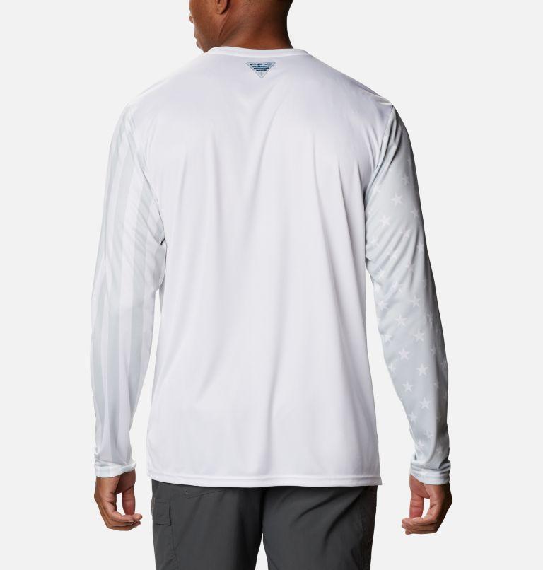 Men's PFG Terminal Tackle™ Americana Long Sleeve Shirt Men's PFG Terminal Tackle™ Americana Long Sleeve Shirt, back