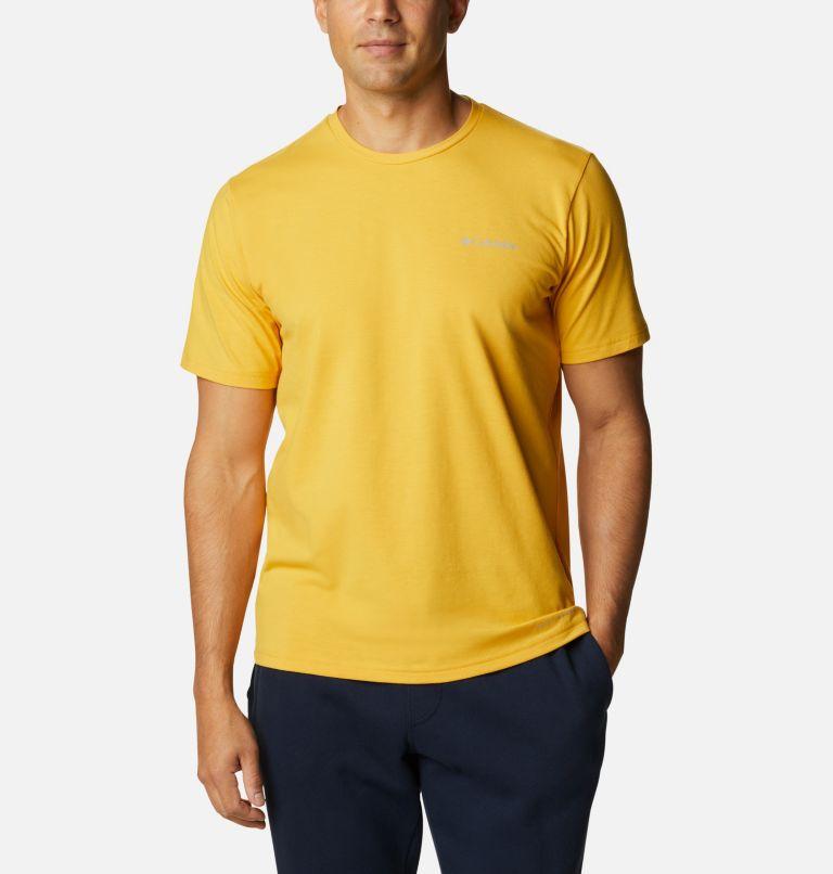 Men's Sun Trek™ Short Sleeve Tee | 790 | L Men's Sun Trek™ Short Sleeve T-Shirt, Bright Gold, front