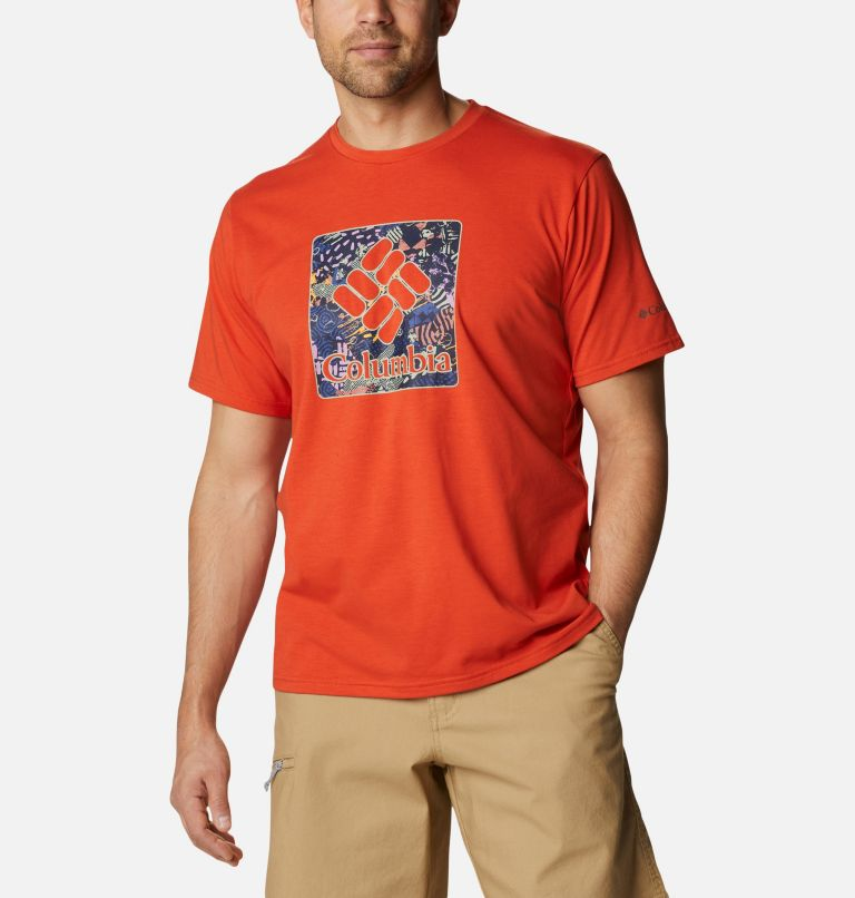 Men's Sun Trek™ Short Sleeve Graphic T-Shirt Men's Sun Trek™ Short Sleeve Graphic T-Shirt, front