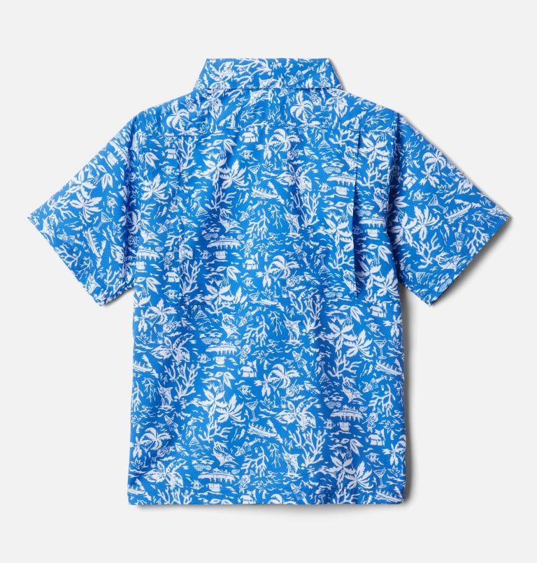 Boys' PFG Slack Tide™ Short Sleeve Camp Shirt Boys' PFG Slack Tide™ Short Sleeve Camp Shirt, back