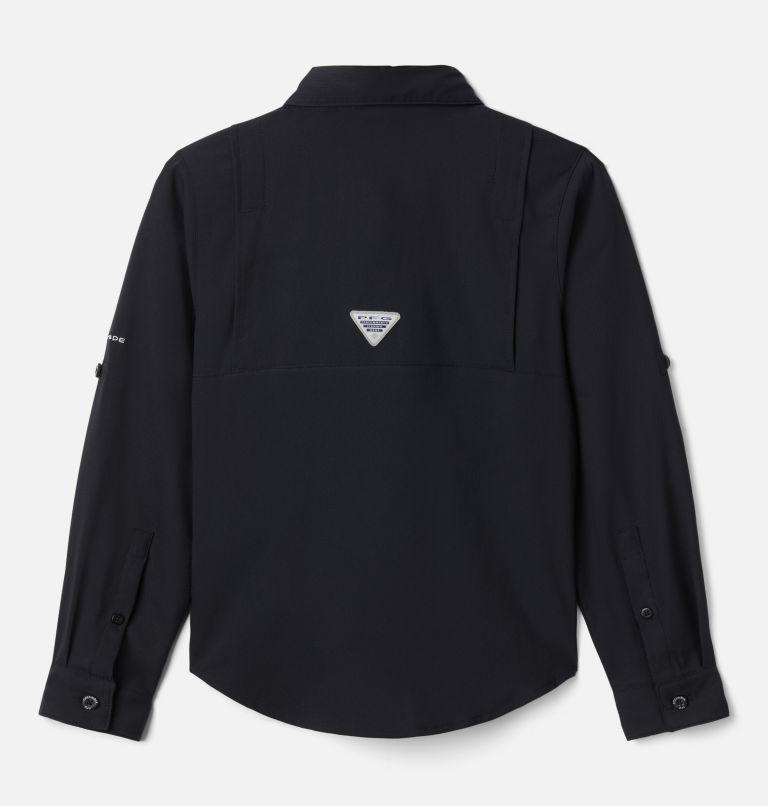 Tamiami™ Long Sleeve Shirt | 010 | L Boys' PFG Tamiami™ Long Sleeve Shirt, Black, back