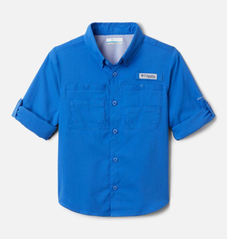 Tamiami™ Long Sleeve Shirt   487   L Boys' PFG Tamiami™ Long Sleeve Shirt, Vivid Blue, a1