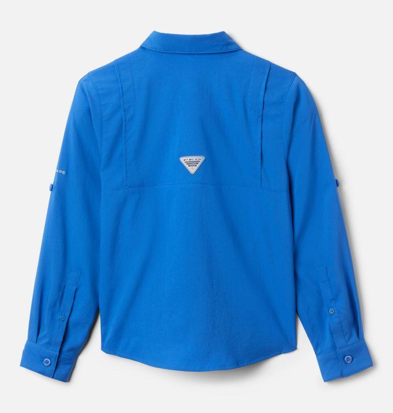Tamiami™ Long Sleeve Shirt   487   L Boys' PFG Tamiami™ Long Sleeve Shirt, Vivid Blue, back