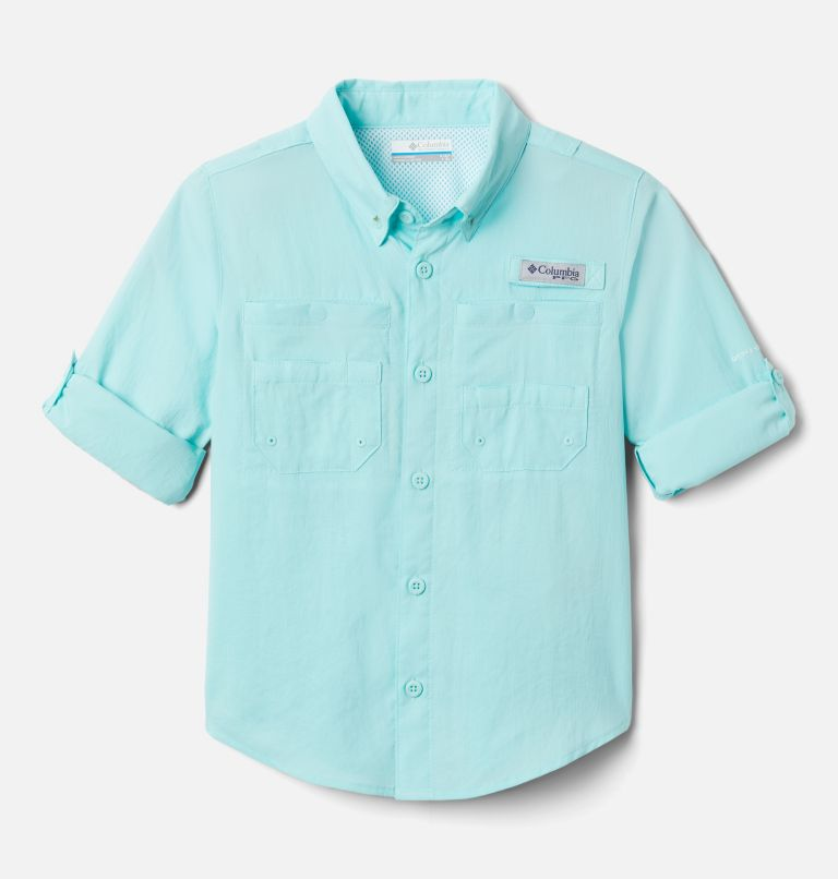 Tamiami™ Long Sleeve Shirt | 499 | L Boys' PFG Tamiami™ Long Sleeve Shirt, Gulf Stream, a1