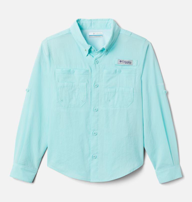 Tamiami™ Long Sleeve Shirt | 499 | L Boys' PFG Tamiami™ Long Sleeve Shirt, Gulf Stream, front