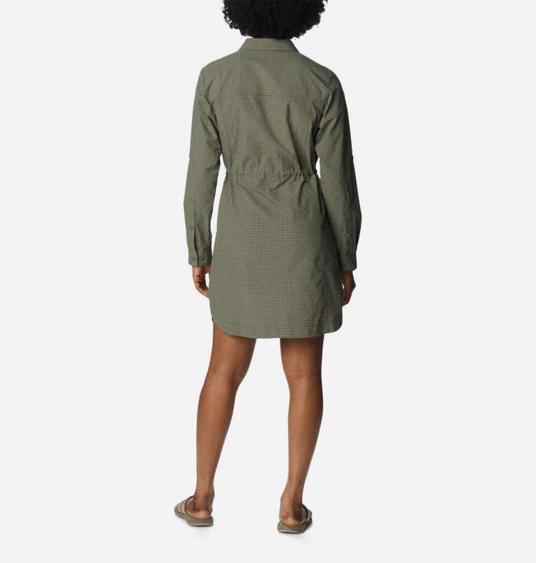 Silver Ridge™ Novelty Dress | 397 | XL Women's Silver Ridge™ Novelty Dress, Stone Green, back