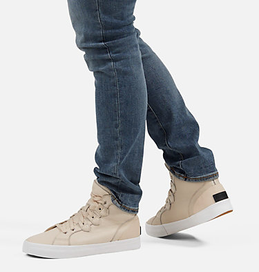 Men's Caribou™ Sneaker Mid Waterproof Boot CARIBOU™ SNEAKER MID WP | 010 | 10, Natural, 3/4 front