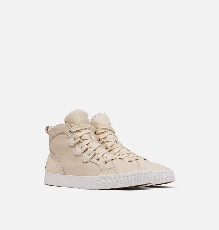 CARIBOU™ SNEAKER MID WP | 120 | 11.5 Men's Caribou™ Sneaker Mid Boot, Natural, 3/4 front