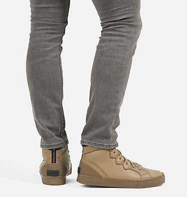 Basket Caribou™ Mid imperméable homme CARIBOU™ SNEAKER MID WP | 120 | 10, Khaki II, video
