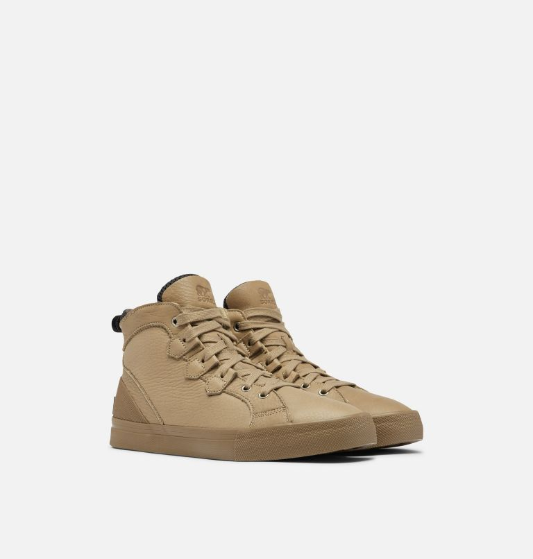 CARIBOU™ SNEAKER MID WP | 297 | 8 Men's Caribou™ Sneaker Mid Boot, Khaki II, 3/4 front