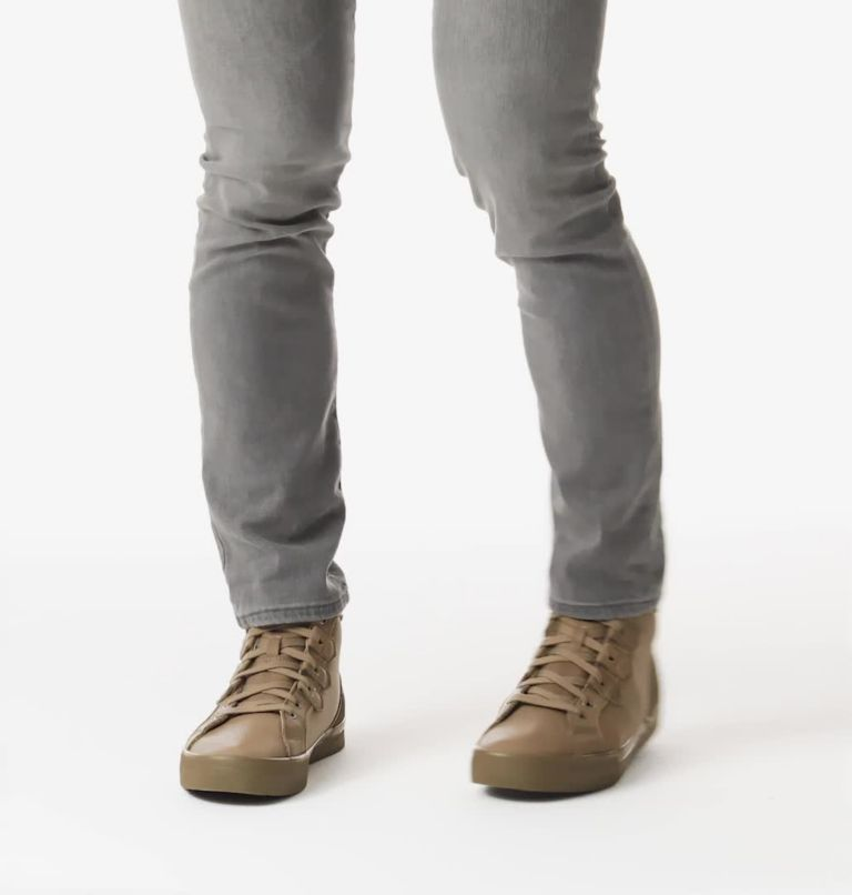 CARIBOU™ SNEAKER MID WP | 297 | 7.5 Men's Caribou™ Sneaker Mid Boot, Khaki II, video