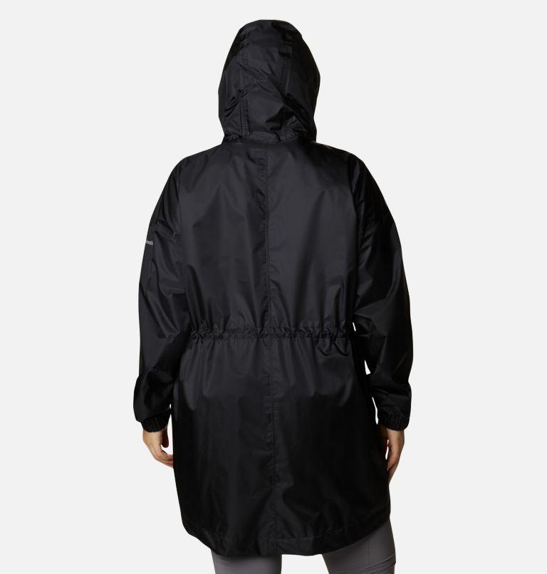 Splash Side™ Jacket | 010 | 2X Women's Splash Side™ Jacket - Plus Size, Black, back