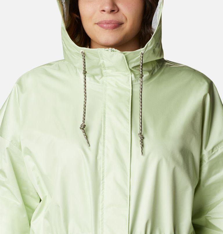 Splash Side™ Jacket | 313 | 3X Women's Splash Side™ Jacket - Plus Size, Light Lime, a2