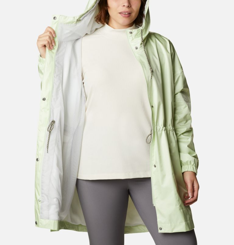 Splash Side™ Jacket | 313 | 3X Women's Splash Side™ Jacket - Plus Size, Light Lime, a3