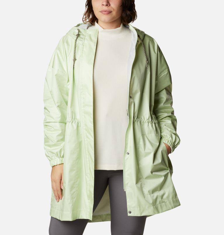 Splash Side™ Jacket | 313 | 3X Women's Splash Side™ Jacket - Plus Size, Light Lime, a4