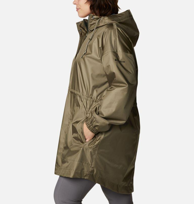 Splash Side™ Jacket | 397 | 1X Women's Splash Side™ Jacket - Plus Size, Stone Green, a1