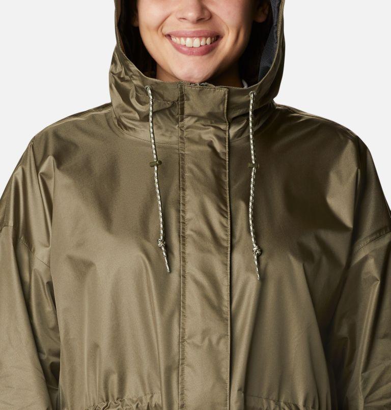 Splash Side™ Jacket | 397 | 1X Women's Splash Side™ Jacket - Plus Size, Stone Green, a2