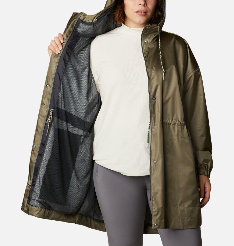 Splash Side™ Jacket | 397 | 1X Women's Splash Side™ Jacket - Plus Size, Stone Green, a3
