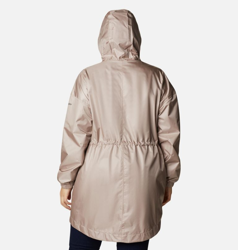 Splash Side™ Jacket | 649 | 2X Women's Splash Side™ Jacket - Plus Size, Mauve Vapor, back