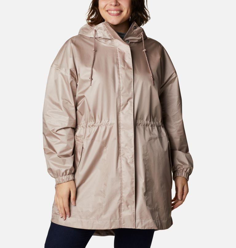 Splash Side™ Jacket | 649 | 2X Women's Splash Side™ Jacket - Plus Size, Mauve Vapor, front