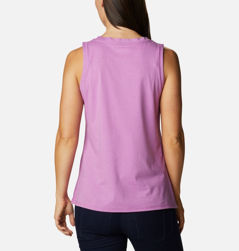 Sun Trek™ Tank | 605 | L Women's Sun Trek™ Tank, Blossom Pink, back
