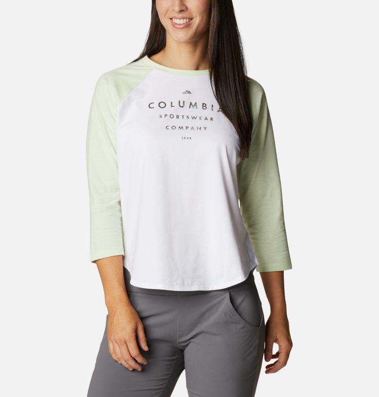 Women's Sun Trek™ Three-Quarter Sleeve T-Shirt Women's Sun Trek™ Three-Quarter Sleeve T-Shirt, front