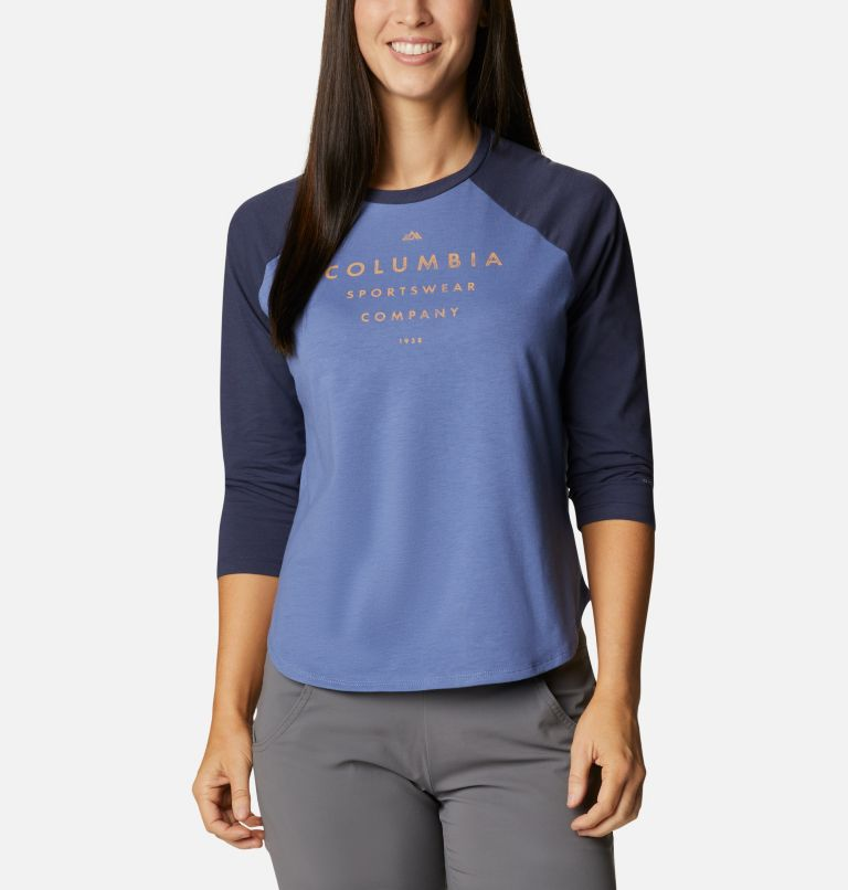 Women's Sun Trek™ Three-Quarter Sleeve T-Shirt Women's Sun Trek™ Three-Quarter Sleeve T-Shirt, front
