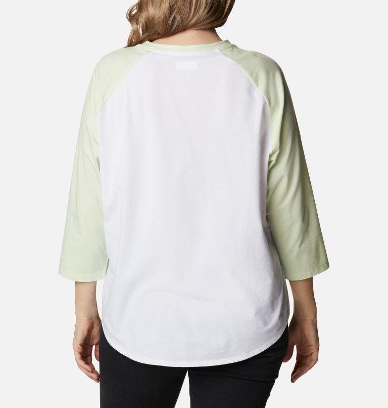 Women's Sun Trek™ Three-Quarter Sleeve T-Shirt - Plus Size Women's Sun Trek™ Three-Quarter Sleeve T-Shirt - Plus Size, back