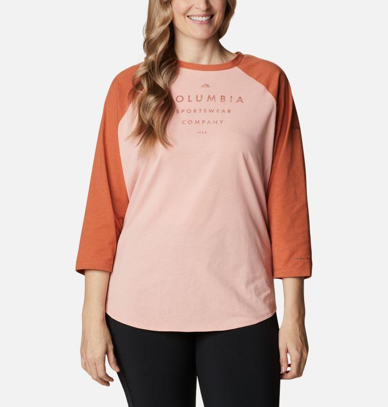 Women's Sun Trek™ Three-Quarter Sleeve T-Shirt - Plus Size Women's Sun Trek™ Three-Quarter Sleeve T-Shirt - Plus Size, front