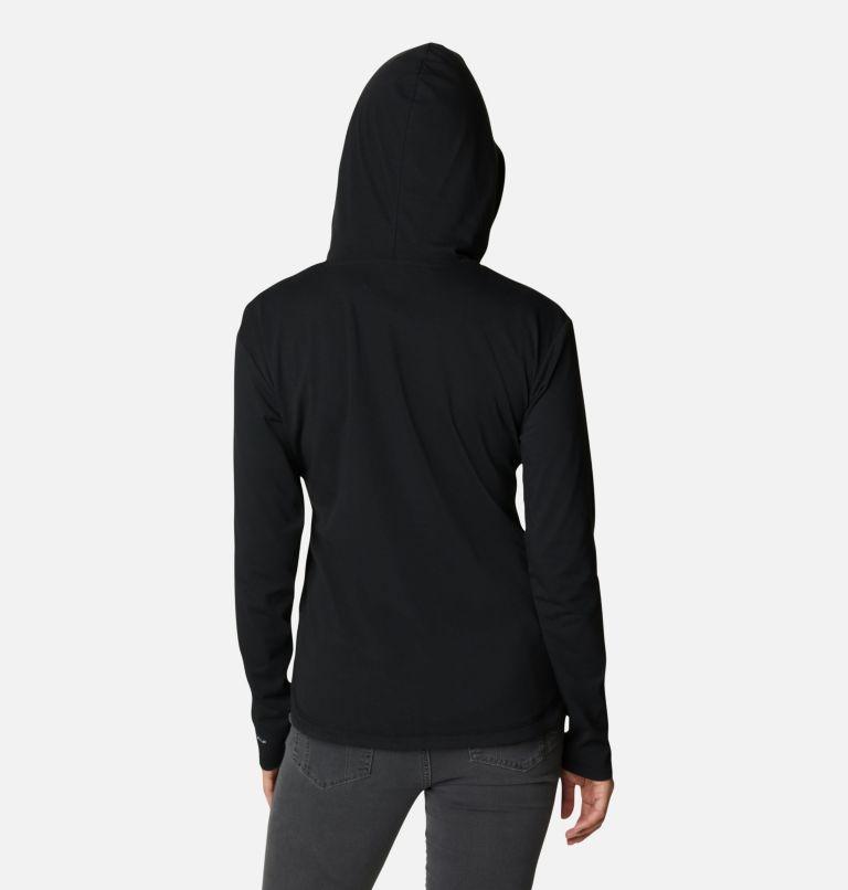 Sun Trek™ Hooded Pullover | 010 | XXL Women's Sun Trek™ Hooded Pullover, Black, back