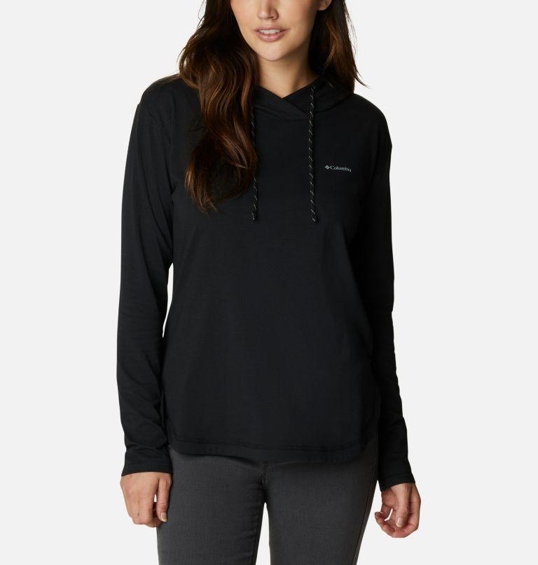 Sun Trek™ Hooded Pullover | 010 | XXL Women's Sun Trek™ Hooded Pullover, Black, front