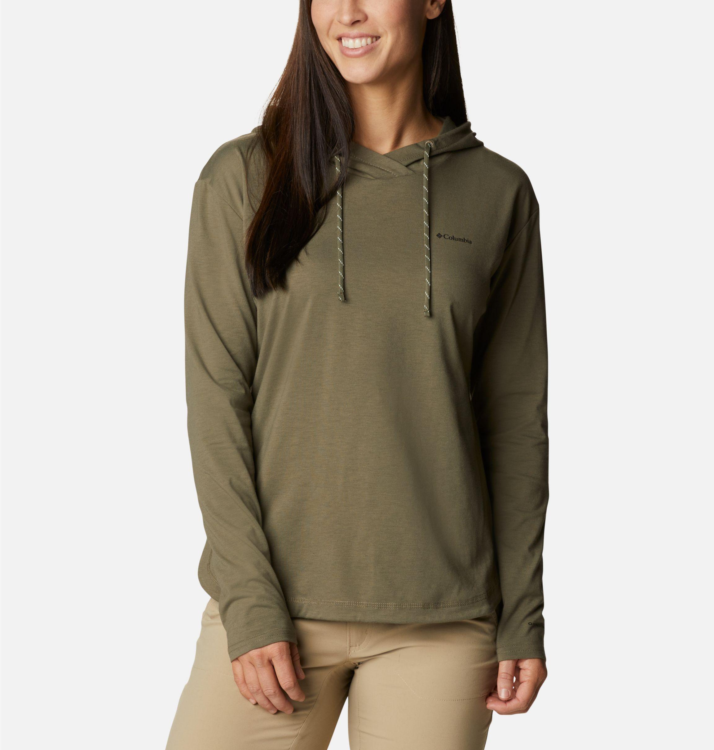 Columbia Womens Sun Trek Hooded Pullover