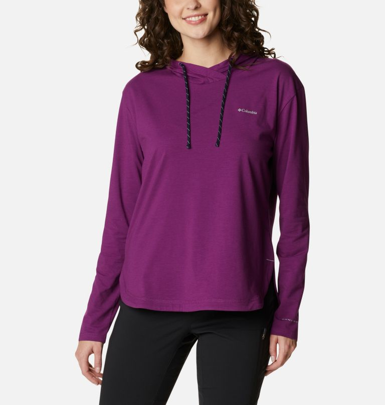 Women's Sun Trek™ Hooded Pullover Women's Sun Trek™ Hooded Pullover, front