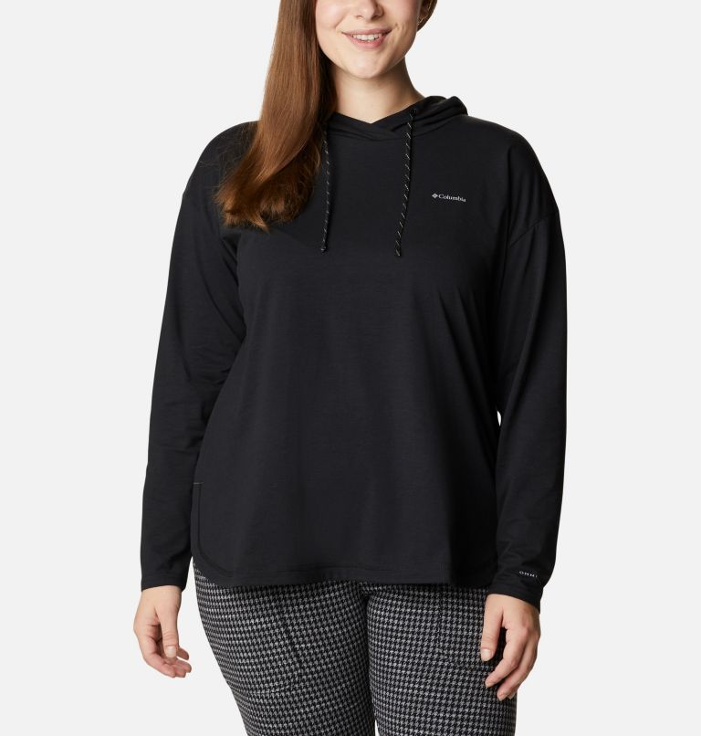 Women's Sun Trek™ Hooded Pullover - Plus Size Women's Sun Trek™ Hooded Pullover - Plus Size, front