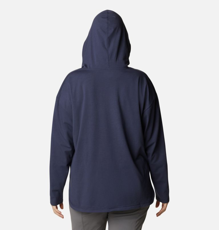 Women's Sun Trek™ Hooded Pullover - Plus Size Women's Sun Trek™ Hooded Pullover - Plus Size, back