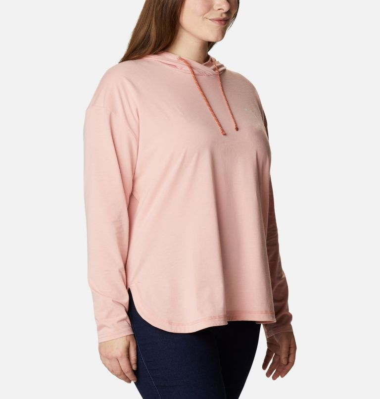 Women's Sun Trek™ Hooded Pullover - Plus Size Women's Sun Trek™ Hooded Pullover - Plus Size, a3