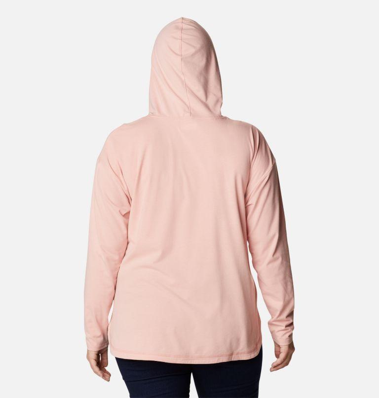Women's Sun Trek™ Hooded Pullover - Plus Size Women's Sun Trek™ Hooded Pullover - Plus Size, back