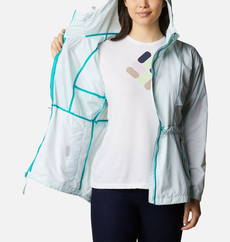 Punchbowl™ Jacket | 360 | S Women's Punchbowl™ Jacket, Tropic Water, White, a3