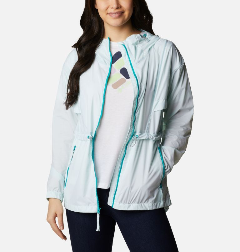 Punchbowl™ Jacket | 360 | S Women's Punchbowl™ Jacket, Tropic Water, White, a6