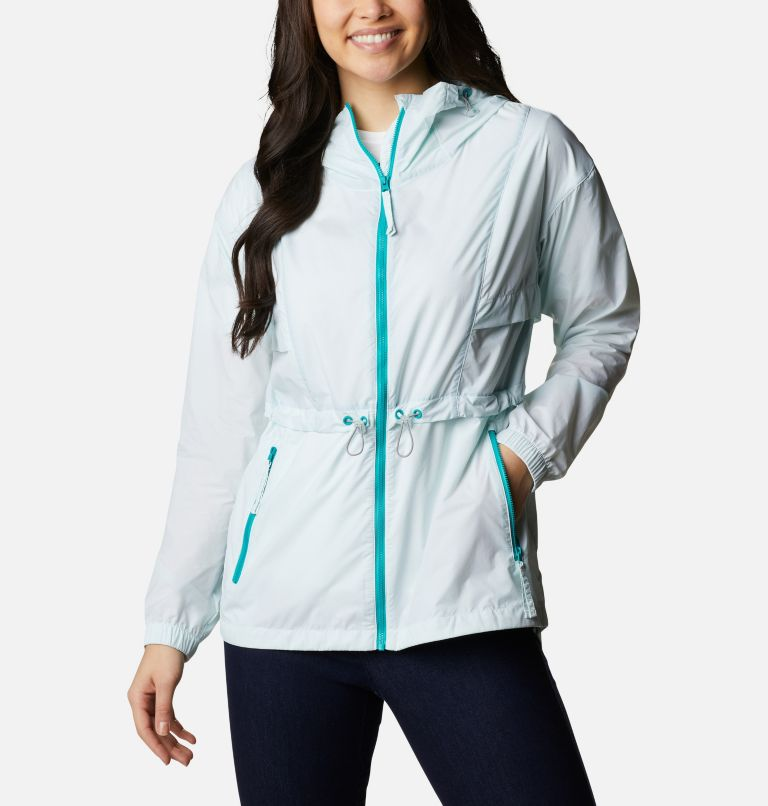 Punchbowl™ Jacket | 360 | S Women's Punchbowl™ Jacket, Tropic Water, White, front