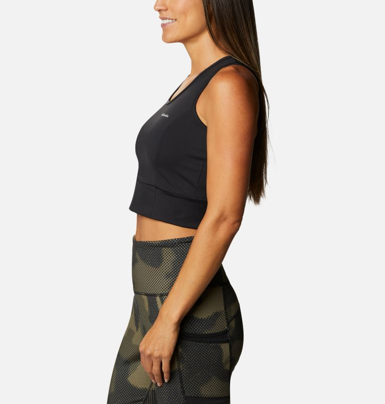 Windgates™ II Cropped Tank | 010 | L Women's Windgates™ II Cropped Top, Black, a1