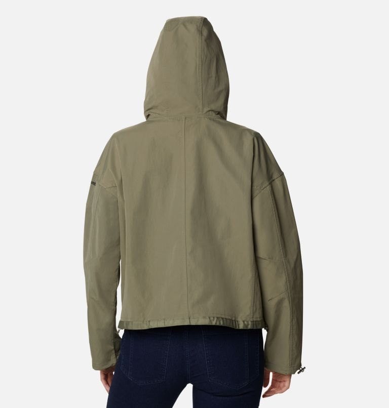 Day Trippin'™ Crop Jacket | 397 | S Women's Day Trippin'™ Crop Jacket, Stone Green, back